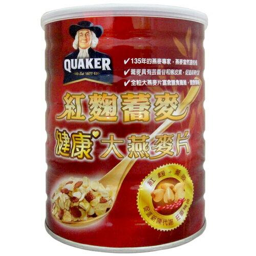 桂格 紅麴蕎麥大燕麥片 700g/罐