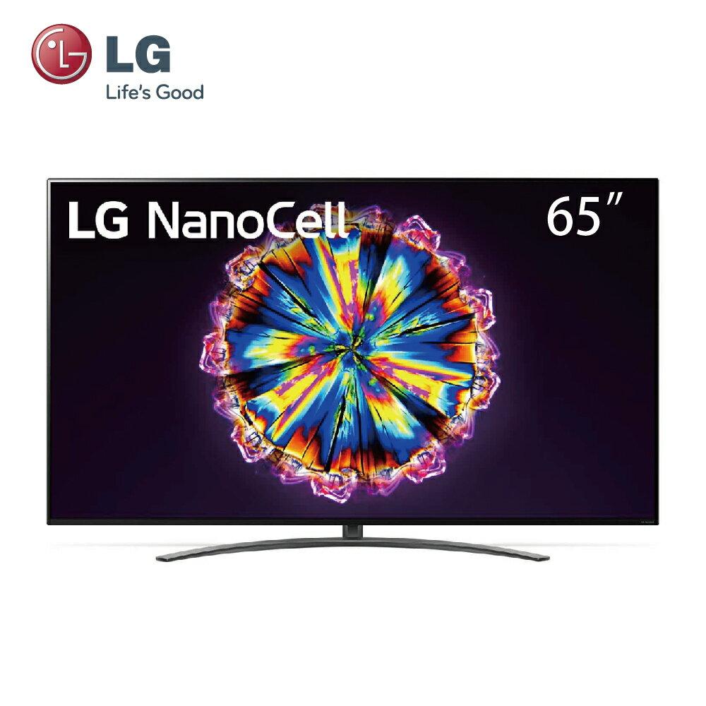 【LG樂金】65型 一奈米 4K AI語音物聯網電視(65NANO91WNA)★LG振興回饋,指定家電好禮加碼贈