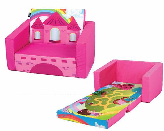 兒童沙發椅沙發床寶寶沙發床椅子花朵030167海渡
