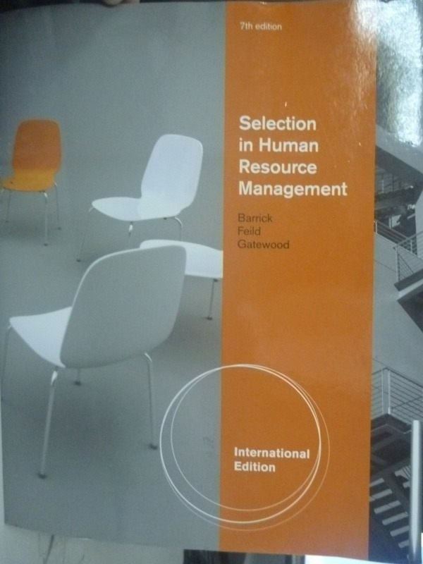 ~書寶 書T2/大學資訊_PLA~Selection in Human Resource