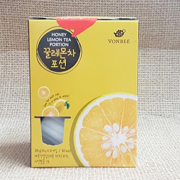 (韓國)VONBEE檸檬茶球禮盒1盒300公克(10入)特價199元【8803217015315】