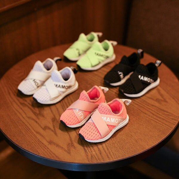寶寶鞋 網眼布學步鞋 / 中童鞋 板鞋 (16-18.5cm) KL13326好娃娃 - 限時優惠好康折扣