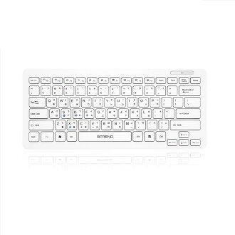 B.Friend BT300 藍芽鍵盤 80Key 支援 I Pad及Android 藍芽鍵盤 無線鍵盤【迪特軍】