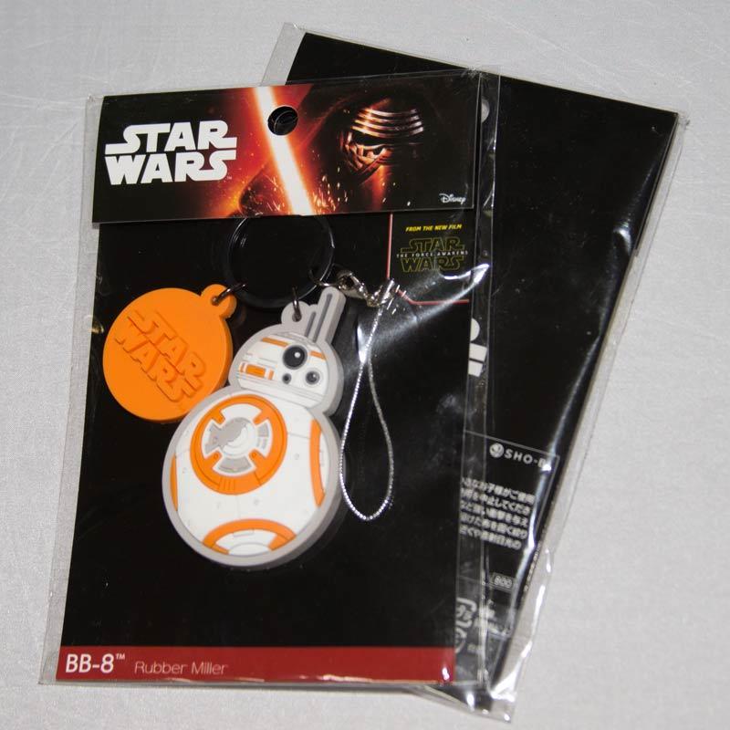 STAR WARS 星際大戰 BB-8 鑰匙圈 吊飾 日本帶回正版商品