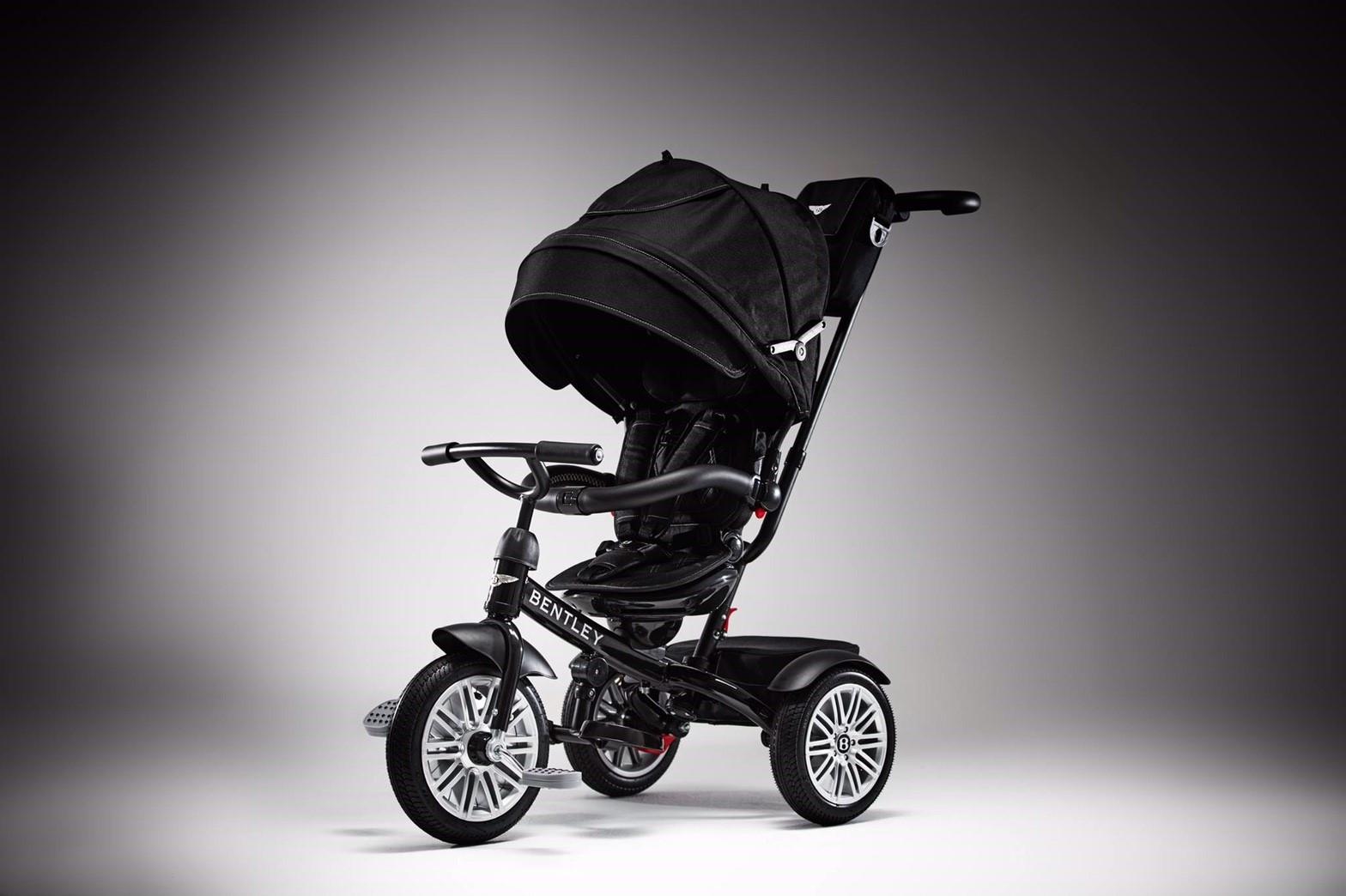 賓利 Bentley 三輪嬰兒手推車 黑 / 紅 / 藍 『121婦嬰用品館』 1