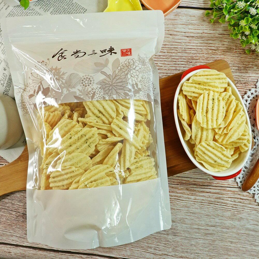 洋芋片-海苔口味 600g【2019040920047】(古早味)