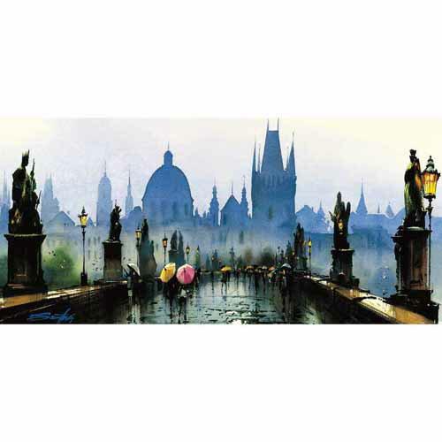 ~P2 拼圖~水都威尼斯 City of Water~Venice 510片夜光拼圖 K1