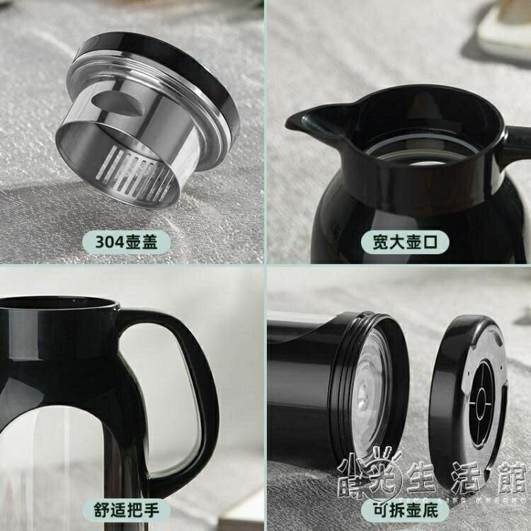 冷水壺玻璃耐熱高溫防爆水瓶家用大容量涼白開水杯茶壺防摔涼水壺 走心小賣場快速出貨