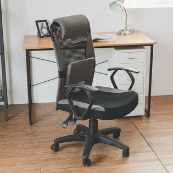 辦公椅書桌椅電腦椅Clare防潑水圓扶手高背辦公椅MIT台灣製完美主義【I0283】