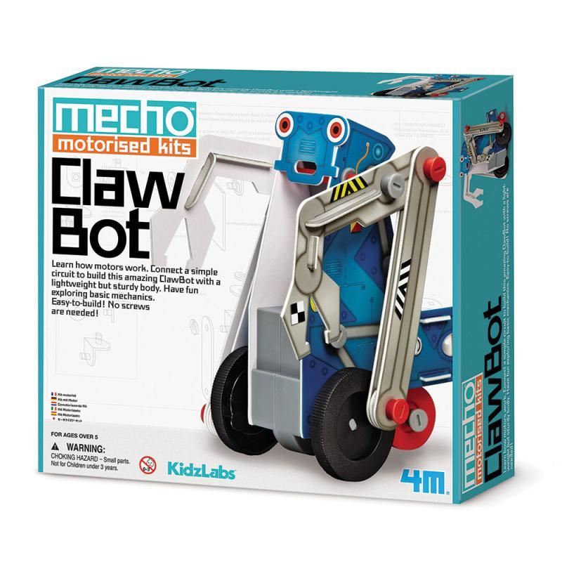 【4M】學齡前啟蒙系列-小小工程師-怪手工程車 Mecho Motorised Kit-Claw Bot 00-03405