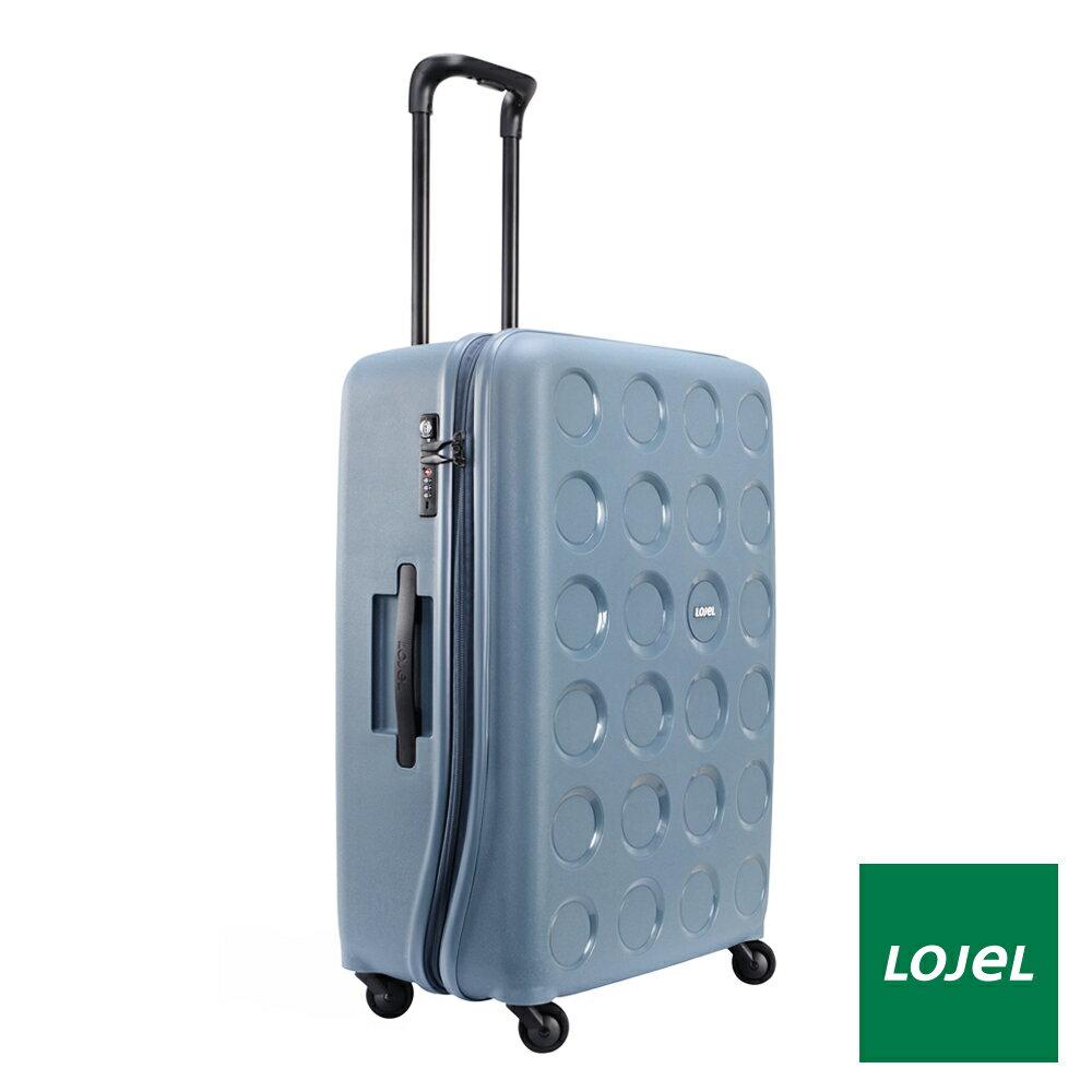 【日本 LOJEL】日本設計 28吋 鋼藍色 PP VITA 拉鍊(登機 行李箱 / 旅行箱)