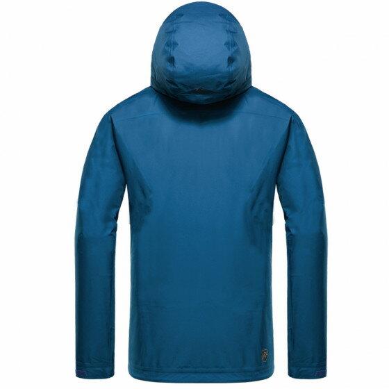 台灣《EGX》WB-1 男款輕量戶外外套(藍綠)