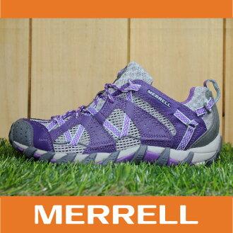 【3月 MERRELL限時7折】萬特戶外運動 MERRELL WATERPRO MAIPO 水陸兩用鞋 女款 低筒健行鞋 快乾透氣 深紫