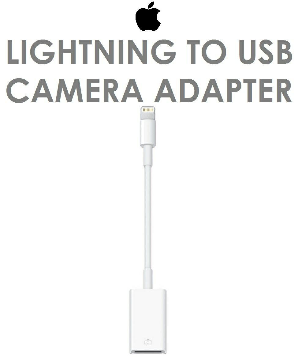 【原廠吊卡盒裝】蘋果 APPLE Lightning 對 USB 相機轉接器