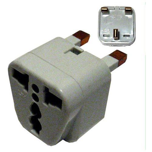 New Universal EU US AU to UK Travel Socket Wall Plug Power AC Adapter Converter 53563810b313e31d468e3665f5067474
