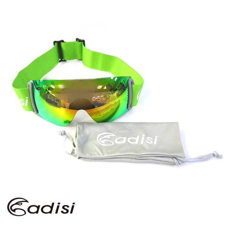 ADISI 女款輕量無框雪鏡AS15222/ 城市綠洲(護目鏡、滑雪鏡、生存遊戲、登山旅遊)