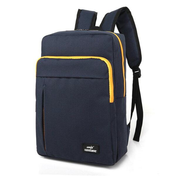 【有折扣碼x現貨免等】韓版糖果色系後背包書包可放筆電防潑水【BGAA0233】
