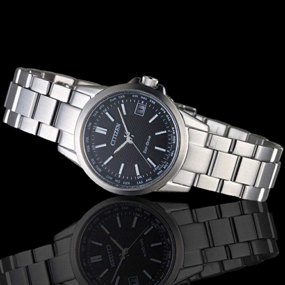 限時 滿3千賺10%點數↘  CITIZEN 星辰錶  LADY;S 嶄新世界限量電波時計女腕錶 EC1130-55E