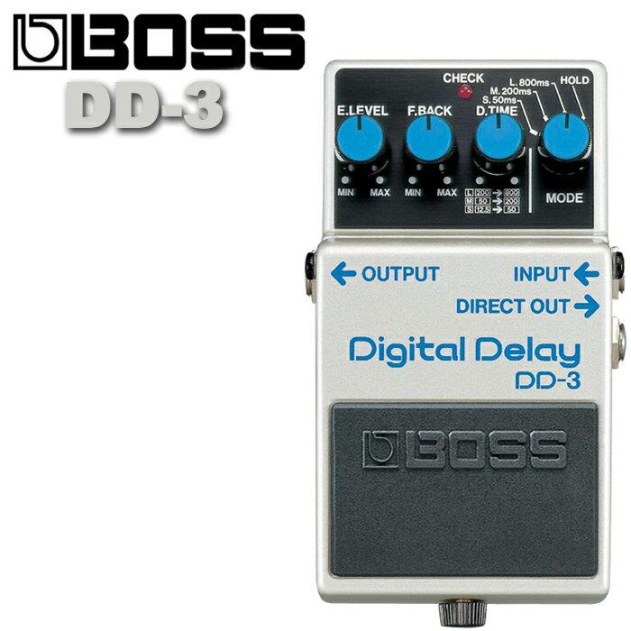 ~非凡樂器~BOSS DD~3 Digital Delay 延遲效果器  贈導線