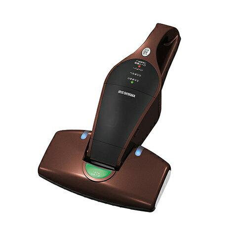 【日本代購-現貨】IRIS OHYAMA IC-FDC1 手持無線充電式超輕量高清除率 紫外線殺菌除 除螨 吸塵器 (深棕色)