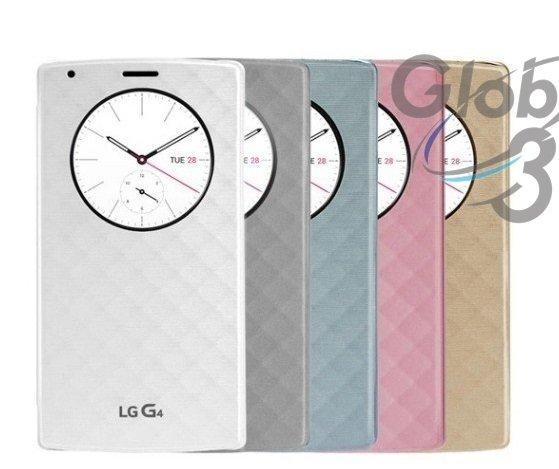 送保護貼 NFC 無線充電 晶片版 LG G4 智慧視窗感應皮套 休眠喚醒 quick window 保護套 智能