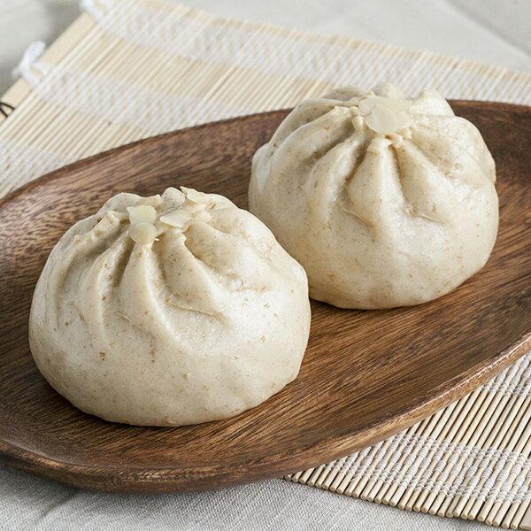 [蕃薯藤]麥麩芝麻杏仁果包 1
