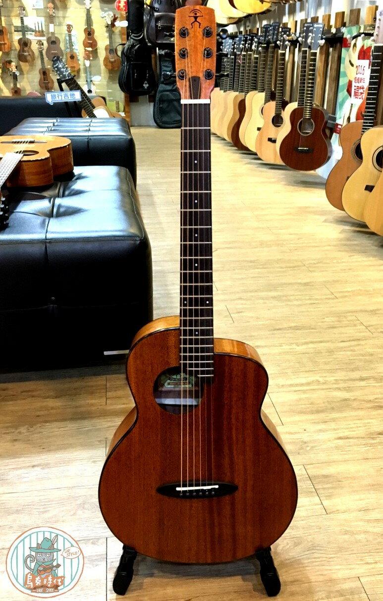 烏克時代~Anuenue鳥吉他M20旅行吉他,全桃花心木面單板旅行吉他