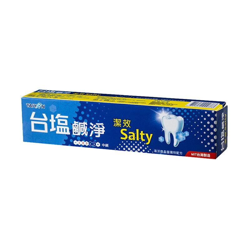 台鹽 鹹淨潔效牙膏150g12條