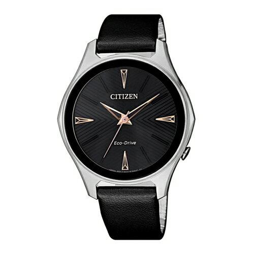 CITIZENLADYS優雅俐落光動能時尚腕錶EM0599-17E