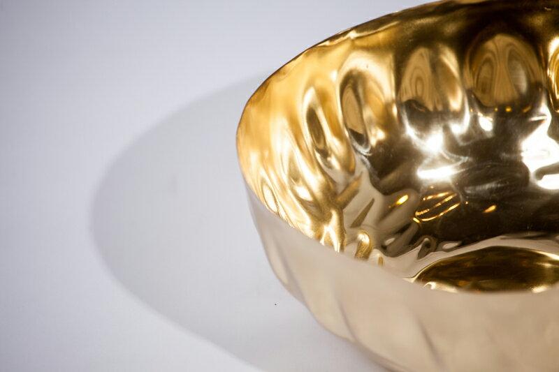 Upptäck Deco 手捶黃銅大碗 - 全三個尺寸【7OCEANS七海休閒傢俱】 2