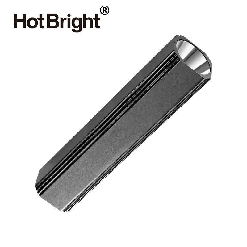 新款方形迷你LED強光手電筒 Q5多功能戶外照明14500鋰電USB充電 新店開張全館五折