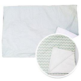 【淘氣寶寶】韓國ORGANICFACTORY棉柔毯-薄荷叢林【保證公司貨】