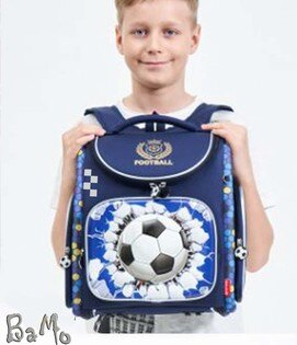 BaMoDL魔法2-足球(1-6年級),~硬殼又輕沒腰扣胸扣跟防水