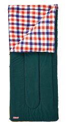 ├登山樂┤美國 Coleman 刷毛睡袋/C5 紅格紋 #CM-26649M