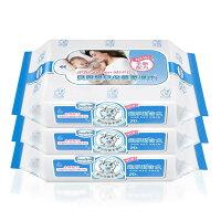 婦嬰用品Baan貝恩 - 嬰兒保養柔濕巾20抽 3包/串 【好窩生活節】。就在小奶娃婦幼用品婦嬰用品