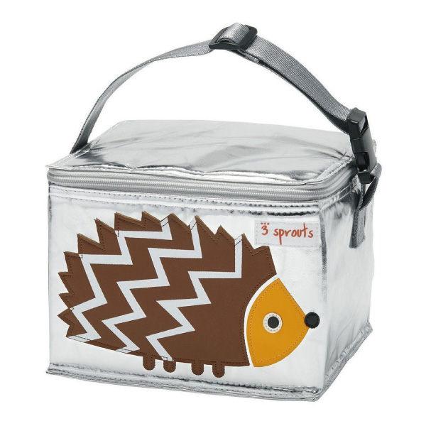 【原廠公司貨】加拿大3 Sprouts 午餐袋/母乳保冷/保溫袋-刺蝟