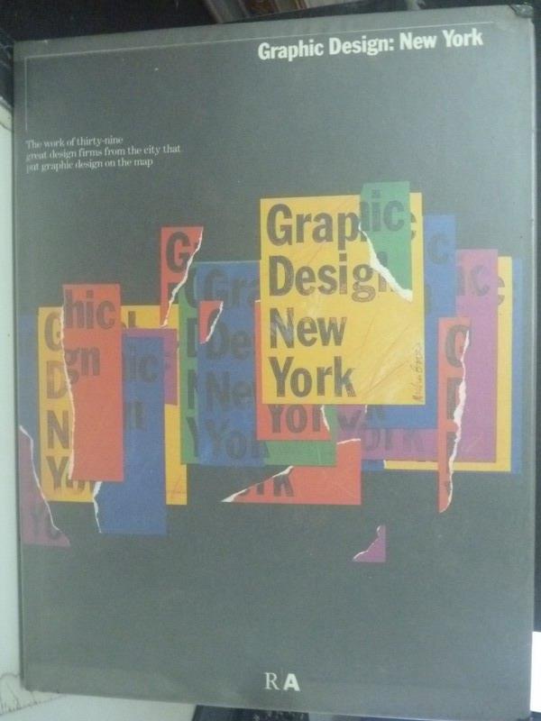 ~書寶 書T9/ _XGS~Graphic Design New York_DK. Hol