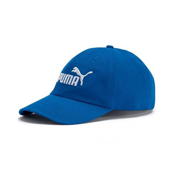 【PUMA】基本系列棒球帽(N) 配件 休閒 藍 帽子 -05291972