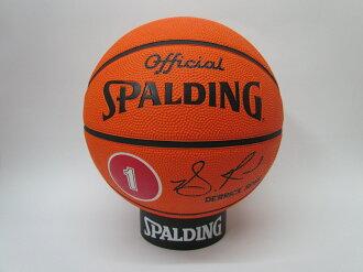 SPALDING專業籃球 NBA球員球系列 公牛隊 羅斯Derrick Rose #1