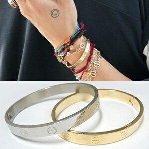 BIGBANG GD 權志龍 同款韓國????螺絲紋精鋼手環