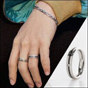 BTS 防彈少年團 Jimin 智旻 同款韓國네스토指環 晶鑽條紋鈦鋼戒指