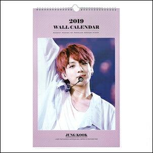 Star World 明星飾界:防彈少年團BTSJungKook柾國韓國벽걸이캘린더2018畫報掛曆行事曆桌曆