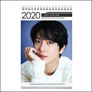 【  】CNBlue 鄭容和 韓國탁상용 달력 2018 ~ 2019 直立式照片桌曆台曆