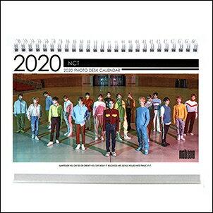 NCT韓國탁상용달력2019~2020直立式照片桌曆台曆
