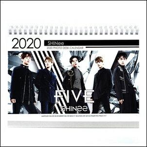 SHINee 韓國탁상용 달력 2018 ~ 2019 直立式照片桌曆台曆