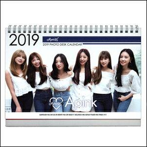 Apink 2018 2019 韓國 ??? ?? 直立式照片桌曆台曆