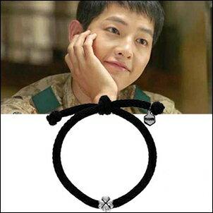 宋仲基 太陽的後裔 同款 韓國 MZUU 四葉幸運草手繩幸運手鍊手環