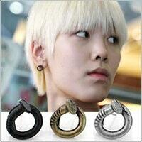 | Star World。Earring | B.A.P ZELO 愛用款捲曲釘子造型耳釘耳環 (單支價)
