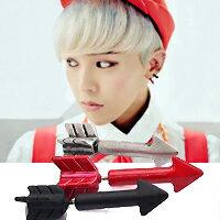   Star World。Earring   BIGBANG 權志龍 同款彩色火箭造型耳釘耳環 (單支價)