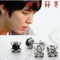 | Star World。Earring | CNBlue 鄭容和 同款四爪水晶瑪瑙耳釘耳環(單支價)